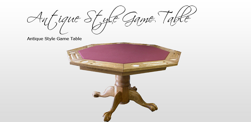 Antique Style Game Table
