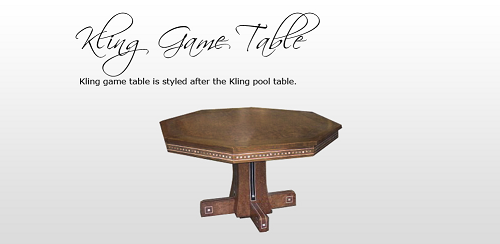 The Kling Game Table
