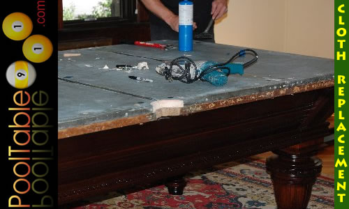 NJ Pool Table Cloth Repair