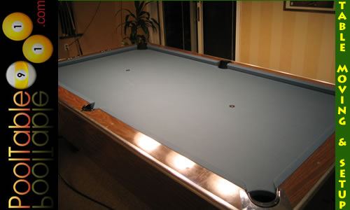 NJ Pool Table Moving Company